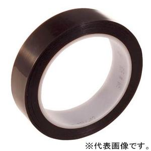 スリーエムジャパン PTFE電気絶縁テープ 25mm×32.9m 褐色 6325