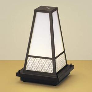 コイズミ照明 LED和風ガーデンライト 屋外用 電球色 口金E26 プラグ付 AU35659L