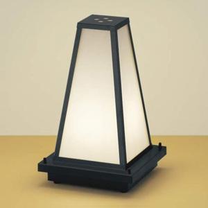 コイズミ照明 LED和風ガーデンライト 屋外用 電球色 口金E17 プラグ付 AU35660L