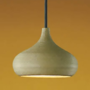コイズミ照明 LED和風ペンダントライト 直付専用 白熱球60W相当 電球色 口金GX53 黄瀬戸仕上 《信楽焼シリーズ》 AP35976L