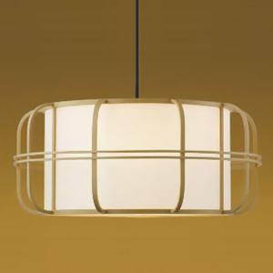 コイズミ照明 LED和風ペンダントライト 白熱球60W相当 電球色 口金E26 引掛シーリング付 白木色 《民芸シリーズ》 AP38925L