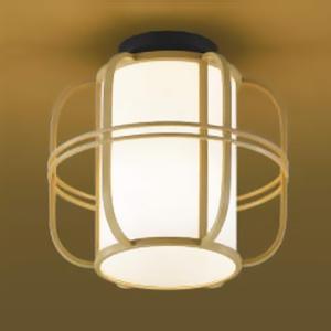 コイズミ照明 LED和風シーリングライト 直付専用 白熱球40W相当 電球色 口金E26 白木色 《民芸シリーズ》 AH38927L