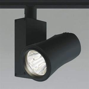 コイズミ照明 LEDスポットライト LED一体型 ライティングレール取付タイプ 温白色 調光タイプ JR12V50W相当 照度角35° ブラック XS41496L