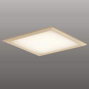 コイズミ照明 LED一体型和風ベースライト ON-OFFタイプ 埋込穴□450mm AC100~254V対応 電球色 XD44963L
