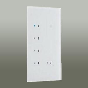 DAIKO 4回路シーンコントローラー子器 スタンダードタイプ 4シーン4回路 リモコン受光付 DP-37987