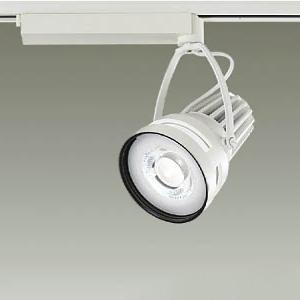 DAIKO LEDスポットライト COBタイプ 制御レンズ付 CDM-T35W相当 非調光タイプ 配光角25°生鮮食品用43W 鮮魚向け 高彩色 ホワイト LZS-91517WWE