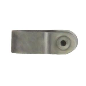 フソー化成 【ケース販売特価 1000個セット】 Fケーブル用片サドル 2.6mm×3芯/1.6mm×2芯を2本並列 FFS-L_set