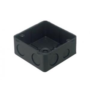パナソニック 【ケース販売特価 50個セット】中型四角アウトレットボックス スタットなし 中深型 ワンタッチ ブラック DM4754DK_set