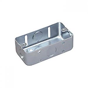 パナソニック ケース販売特価 100個セット 鋼板製スイッチボックス 電気亜鉛めっき お中元 日本産 1コ用 DS4811K_set