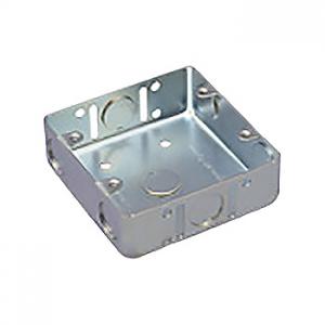 パナソニック 【ケース販売特価 50個セット】鋼板製スイッチボックス 2コ用 電気亜鉛めっき DS4821K_set