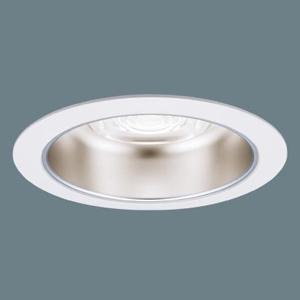 パナソニック LEDダウンライト M形 プレーン(一般タイプ) 調光タイプ FHT42形×3灯器具相当 温白色 広角タイプ 埋込穴φ150mm XNDN5534SVLZ9