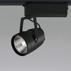 コイズミ照明 LED一体型スポットライト ライティングレール取付タイプ HID70W相当 3000lmクラス 電球色 2700K 照度角45° ブラック XS45997L