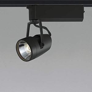 コイズミ照明 LED一体型スポットライト ライティングレール取付タイプ JR12V50W相当 1000lmクラス 電球色 2700K 照度角20° ブラック XS46095L