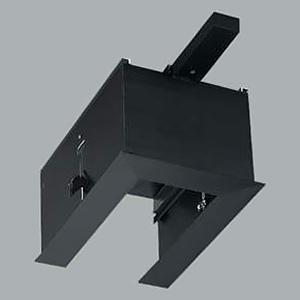 コイズミ照明 リニアバンクシステムパーツ エンドパーツ 給電側 黒色 cledy microシリーズ XE46273E