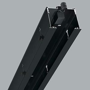 【受注生産品】 コイズミ照明 リニアバンクシステムパーツ センターパーツ 1000mmタイプ 黒色 cledy microシリーズ XE46279E
