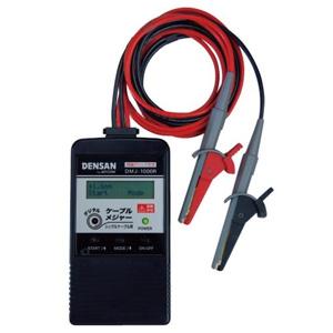 ジェフコム デジタルケーブルメジャー シングル用 両端クリップ方式 適合電線:電気用軟銅線 DMJ-1000R