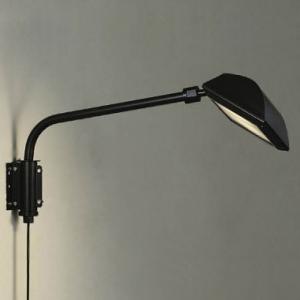 DAIKO LEDウォールスポットライト モジュールタイプ 拡散パネル付 CDM-T35W相当 非調光タイプ 電球色 ブラック LZW-90784YB