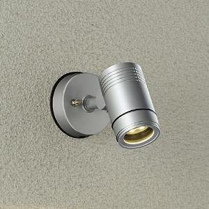 DAIKO LEDブラケットライト 超広角60° 防雨形 白熱灯80W相当 非調光タイプ 9.5W 天井付・壁付・床付兼用 電球色 シルバーサテン DOL-4406YS