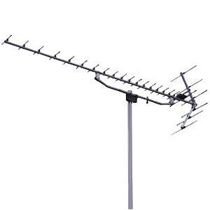 日本アンテナ UHFアンテナ アルミタイプ 素子数20 コーナー型反射器 国土交通省営繕仕様 BLKU20