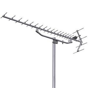 日本アンテナ UHFアンテナ ステンレスタイプ 全帯域用 素子数20 アタック型反射器 KU20S