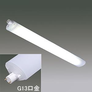 アイリスオーヤマ 【ケース販売特価 10本セット】 リニューアル用LEDランプ 《ECOHiLUX LX-R》 20形 温白色 G13口金 LXR20・WW/7/10_set