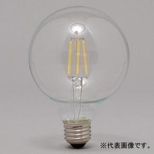 アイリスオーヤマ 【ケース販売特価 20個セット】 LEDフィラメント電球 ボール電球タイプ クリアタイプ 一般電球60形相当 電球色 密閉形器具対応 E26口金 LDG7L-G-FC_set