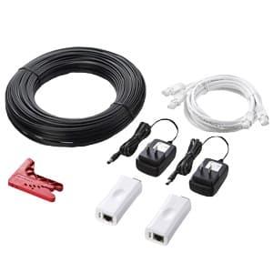 サンワサプライ POFメディアコンバータDIYキット オプトロック(プラグレス光モジュール)搭載 LAN-POF200
