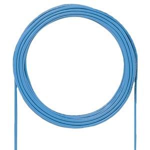 サンワサプライ カテゴリ5e自作用LANケーブル ケーブルのみ UTPタイプ 単線 レングスマーク付 200m ブルー KB-T5-CB200BLN