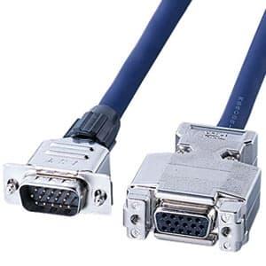 サンワサプライ 即納 ディスプレイ延長ケーブル 超目玉 複合同軸ケーブル ストレート全結線 KB-CHD156FN 6m