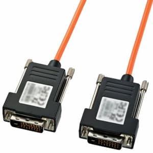 サンワサプライ DVIディスプレイ用光ファイバケーブル シングルリンクモード用 50m KC-DVI-FB50