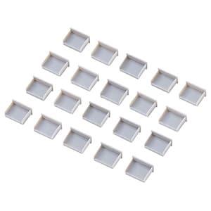 サンワサプライ USBコネクタキャップ Aコネクタ用 TK-UCAP2-20 20個入 交換無料 つめなしタイプ 卓越
