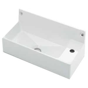 カクダイ 壁掛手洗器 《CORPOSO》 壁掛専用 排水・国内7 ビス付 493-155