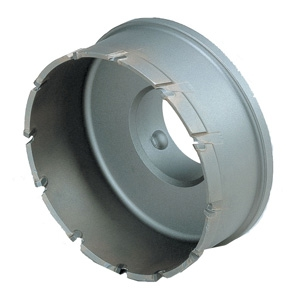 BOSCH 超硬深穴ホールソーカッター 回転専用 刃先径φ90mm 《ポリクリックシステム》 PFH-090C