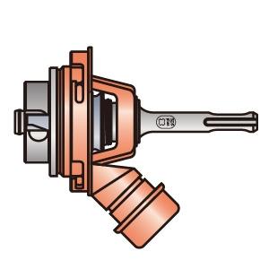 BOSCH 吸じんSDSプラスシャンクL 適用サイズφ50mm以上 《ポリクリックシステム》 PC-SDS/LE