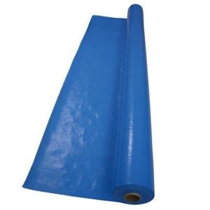 萩原工業 ブルークロス 防水タイプ 幅1.8×長さ100m 厚み0.07mm ブルー QBC183B