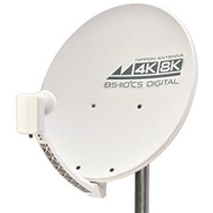 日本アンテナ BS・110°CSアンテナ 4K・8K対応 45cm型 右左旋円偏波用 45SRL