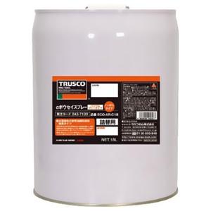 トラスコ中山 αボウセイ油詰替用 缶タイプ ノンガスタイプ 淡褐色 内容量18L ECO-AR-C18