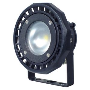 日動工業 LEDカラービックナイター 10W 屋外型 吊下げ型 ストレートアームタイプ 定格光束80Lm VCT0.75×3芯×3m 青 LEN-10D-P-1P-B