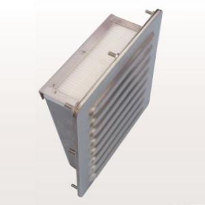 篠原電機 防噴流型ギャラリー 塩害対策仕様 20タイプ IP55 ステンレス製 G2-20BF-AST