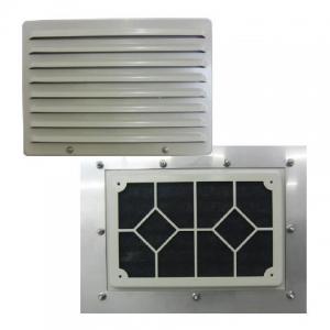 篠原電機 GTS-30W IP45 薄型防噴流ギャラリー ステンレス製 IP45 ファンなしタイプ ステンレス製 GTS-30W, ハママツシ:96e0c38d --- ferraridentalclinic.com.lb