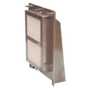 篠原電機 耐塩仕様フード付ギャラリー 屋外用(FG型) IPX4 ステンレス製 FG-20S-ST