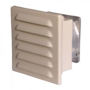 篠原電機 ファン付ギャラリー 塩害対策仕様 ファンなしタイプ IP45 ステンレス製 GFS-120W-FN-ST