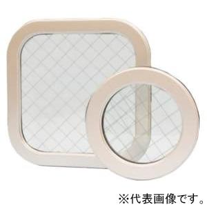 篠原電機 アルミ窓枠 プレス製汎用タイプ APY型(角型) IP55 強化ガラス APY-5040K