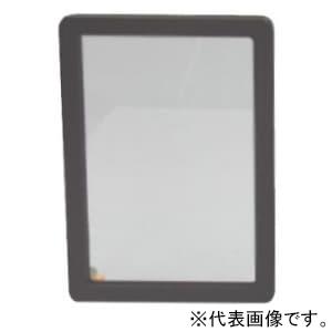 篠原電機 計器用窓枠 SNS型(角型タイプ) IP55 金網入りガラス ステンレス製 SNS-1520A