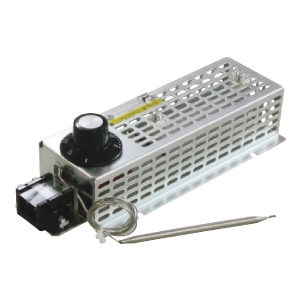 篠原電機 スペースヒーター ミニマムタイプ サーモスタット付 110V 100W ヒーターSEHC製、カバーSPCC製 SHCM4-1110-OH