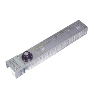 篠原電機 カバー付スペースヒーター コンパクトタイプ 200W 電源電圧220V 2点取付 SPCC製、ヒーターSUS430製 サーモスタット、電子カバー付 SHCK2-2220S-OH-TC