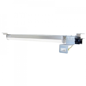 篠原電機 盤用LEDユニット端子台タイプ ロングタイプ 右側スイッチ AC100V~240V 50/60Hz 720×95mm CLED-1009U-R