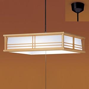 パナソニック LEDペンダントライト ~8畳用 直付吊下・下面開放型 和風タイプ プルスイッチ付 昼光色 LSEB8201LE1