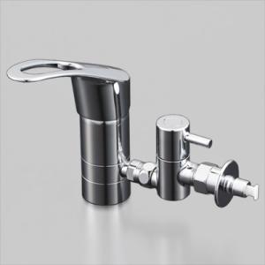 KVK 流し台用シングルレバー式混合栓用分岐金具 KVK専用 逆止弁・緊急止水機能付 ZK556TU