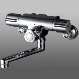KVK 定量止水付2ハンドル混合栓 Ⅰ型 《KM59お湯ぴたシリーズ》 KM59G